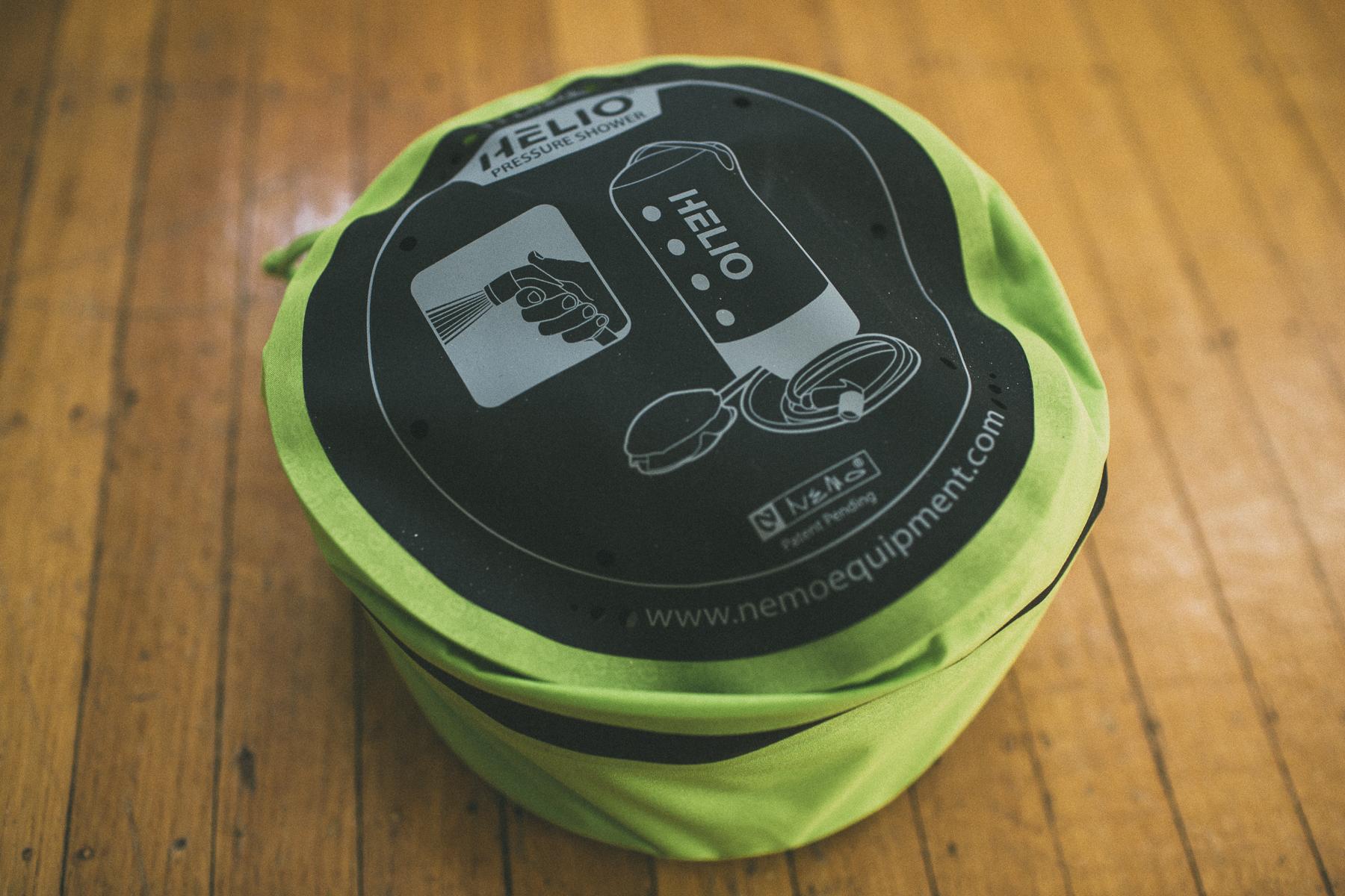 Helio pressure shower by nemo equipment