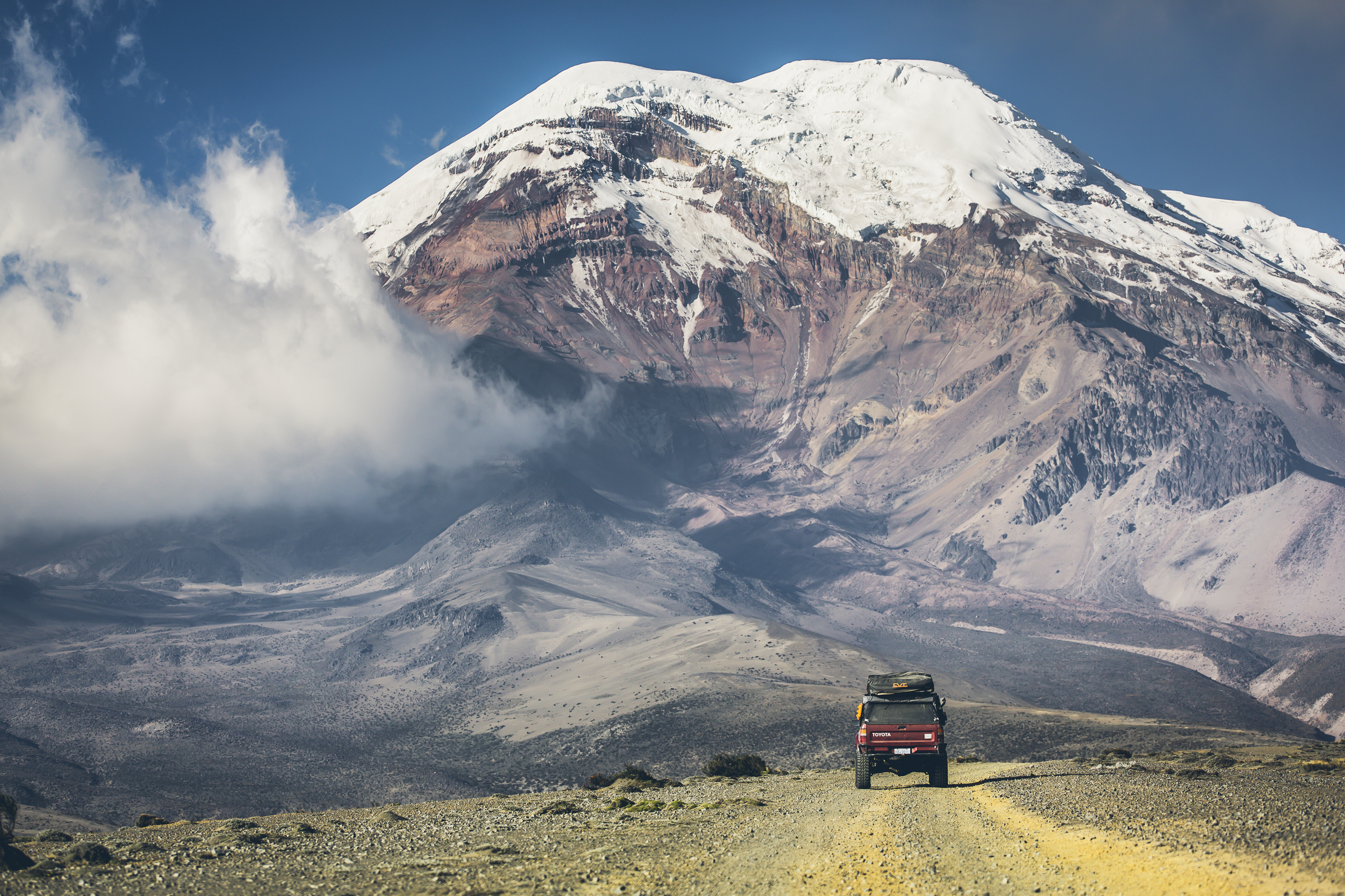 Desk to Glory | Chimborazo National Park, Ecuador - Desk