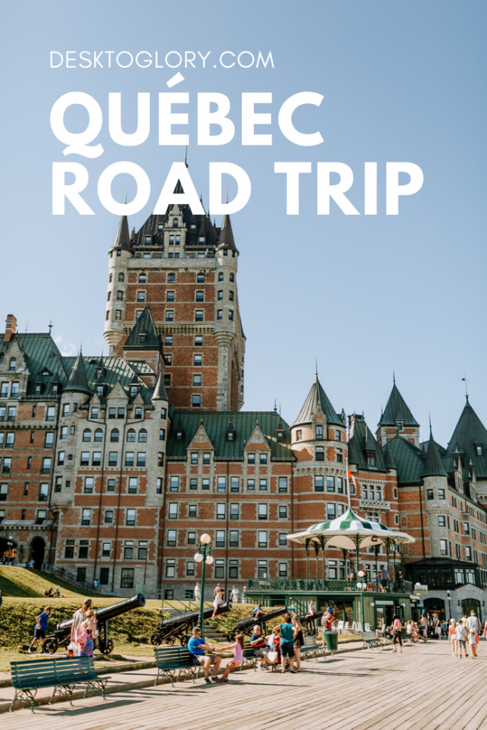 road trip through quebec